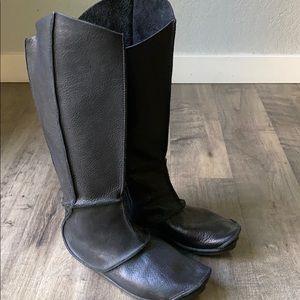 Trippen Long Boot Reptile Women's 9